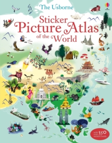 Sticker Picture Atlas of the World, Paperback Book
