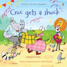 Croc Gets a Shock, Paperback Book