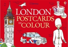 25 London Postcards to Colour, Novelty book Book