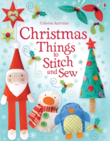 Christmas Things to Stitch and Sew, Paperback Book