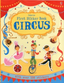 First Sticker Book Circus, Paperback / softback Book