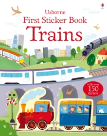 First Sticker Book Trains, Paperback / softback Book