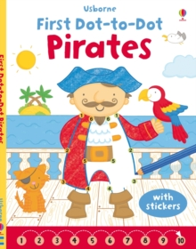 First Dot-to-Dot Pirates, Paperback Book