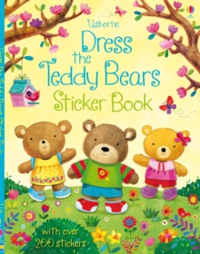 Dress the Teddy Bears Sticker Book, Paperback Book