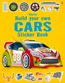 Build Your Own Car Sticker Book, Paperback Book