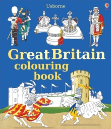 Great Britain Colouring Book, Paperback Book