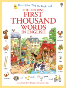 First Thousand Words in English, Paperback Book