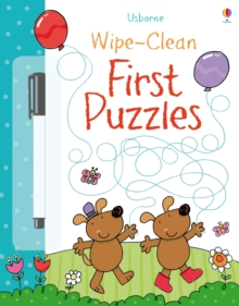 Wipe-Clean First Puzzles, Paperback Book