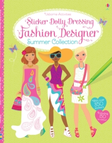Sticker Dolly Dressing Fashion Designer Summer Collection, Paperback Book