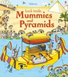 Look Inside Mummies and Pyramids, Hardback Book
