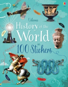 History of the World in 100 Stickers, Paperback / softback Book