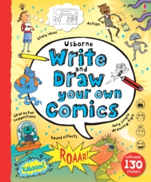 Write and Draw Your Own Comics, Spiral bound Book