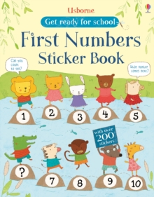 First Numbers Sticker Book, Paperback Book