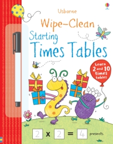 Wipe-clean Starting Times Tables, Paperback / softback Book