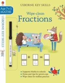 Wipe-Clean Fractions 7-8, Paperback / softback Book