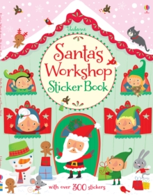Santa's Workshop Sticker Book, Paperback Book