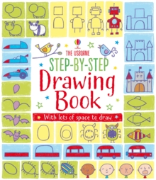 Step-by-Step Drawing Book, Paperback Book