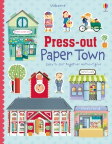 Press-out Paper Town, Paperback Book