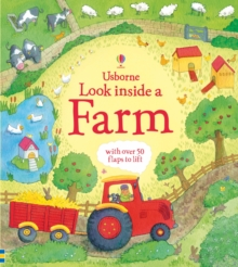 Look Inside a Farm, Hardback Book