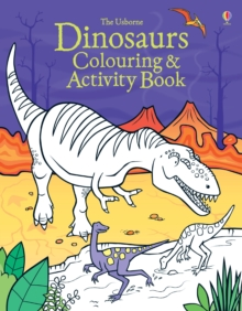 Dinosaurs Colouring and Activity book, Paperback / softback Book