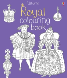 Royal Colouring Book, Paperback Book