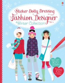 Sticker Dolly Dressing Fashion Designer Winter Collection, Paperback Book