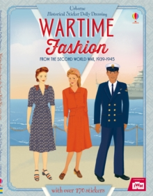 Historical Sticker Dolly Dressing Wartime Fashion (1939-1945), Paperback Book