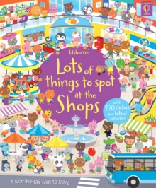 Lots of Things to Spot at the Shops Sticker Book, Paperback Book