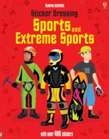 Sticker Dressing Sports & Extreme Sports, Paperback Book