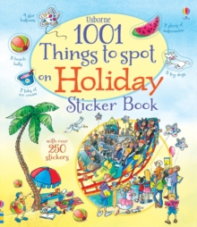 1001 Things to Spot on Holiday Sticker Book, Paperback Book