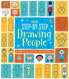 Step-by-Step Drawing Book : People, Paperback Book