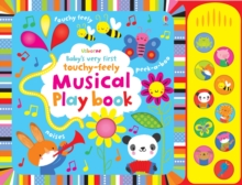 Baby's Very First Touchy-Feely Musical Playbook, Board book Book