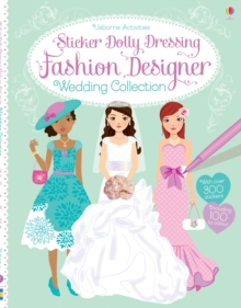 Sticker Dolly Dressing Fashion Designer Wedding Collection, Paperback Book