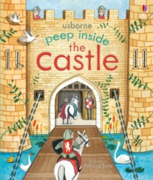 Peep Inside a Castle, Board book Book