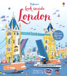 Look Inside London, Hardback Book