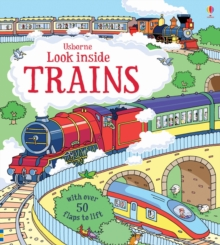 Look Inside Trains, Board book Book