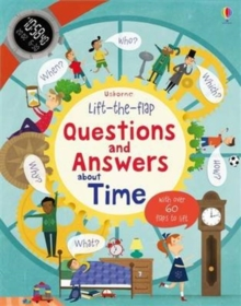 Lift-the-Flap Questions and Answers About Time, Board book Book