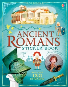 Ancient Romans Sticker Book, Paperback / softback Book