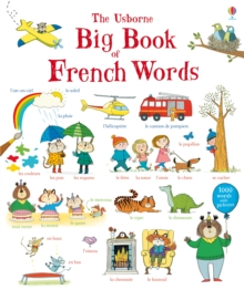 Big Book of French Words, Board book Book
