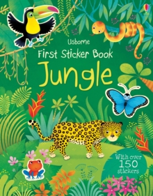 First Sticker Book Jungle, Paperback Book