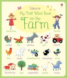 My First Word Book : On the Farm, Board book Book