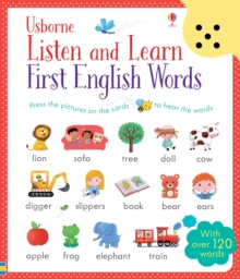 Listen and Learn First English Words, Cards Book