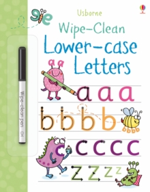 Wipe-Clean Lower-Case Letters, Paperback Book