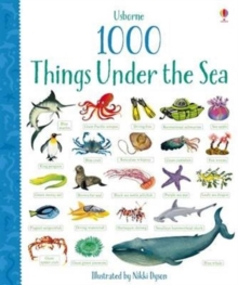 1000 Things Under the Sea, Board book Book