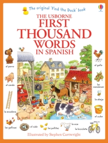 First Thousand Words in Spanish, Paperback Book