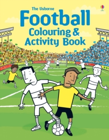 Football Colouring and Activity Book, Paperback Book