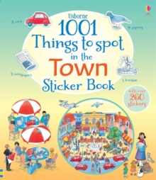 1001 Things to Spot in the Town Sticker Book, Paperback / softback Book