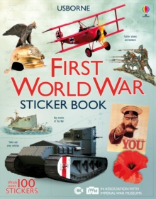 First World War Sticker Book, Paperback Book
