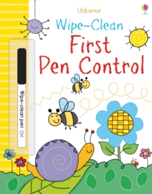 Wipe-Clean First Pen Control, Paperback Book