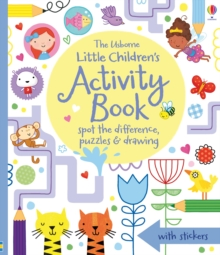Little Children's Activity Book Spot the Difference, Puzzles and Drawing, Paperback Book